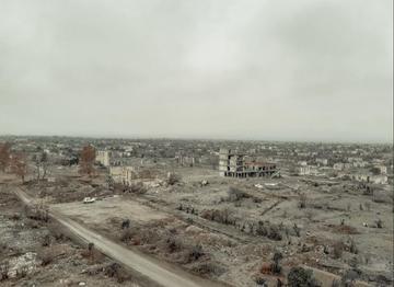 Veduta di Agdam, Azerbaijan - © Filippo Cicciù