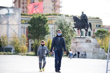 Tirana ai tempi del Covid-19 - © Nensi Bogdani