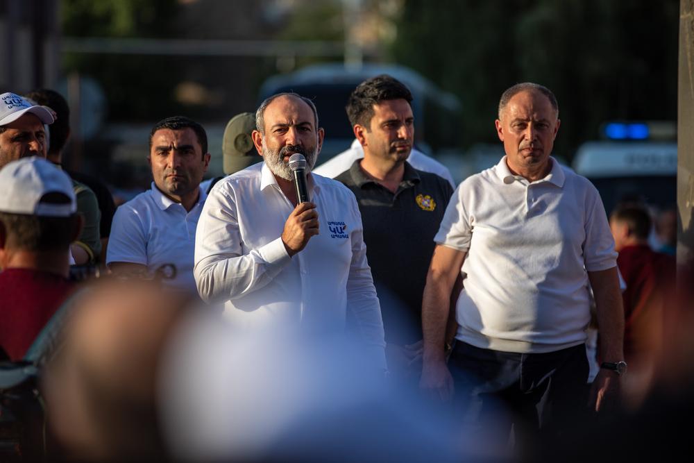 Il primo ministro armeno Nikol Pashinyan (16 giugno 2021) © Gevorg Simonyan/Shutterstock