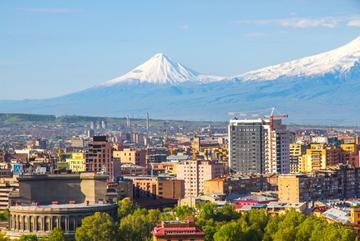 Panorama di Yerevan - © Whatafoto/Shutterstock