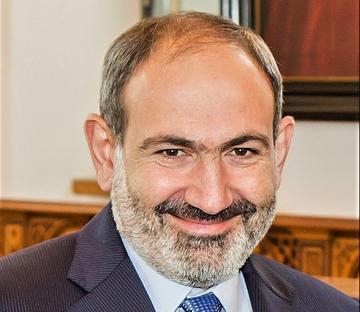 Nikol Pashinyan - foto Wikipedia