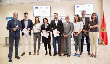 Awarding ceremony in Montenegro