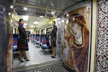 Interno del treno (foto Beta)