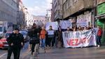 Proteste cittadine dopo lo scandalo di Pazarić (foto youtube)