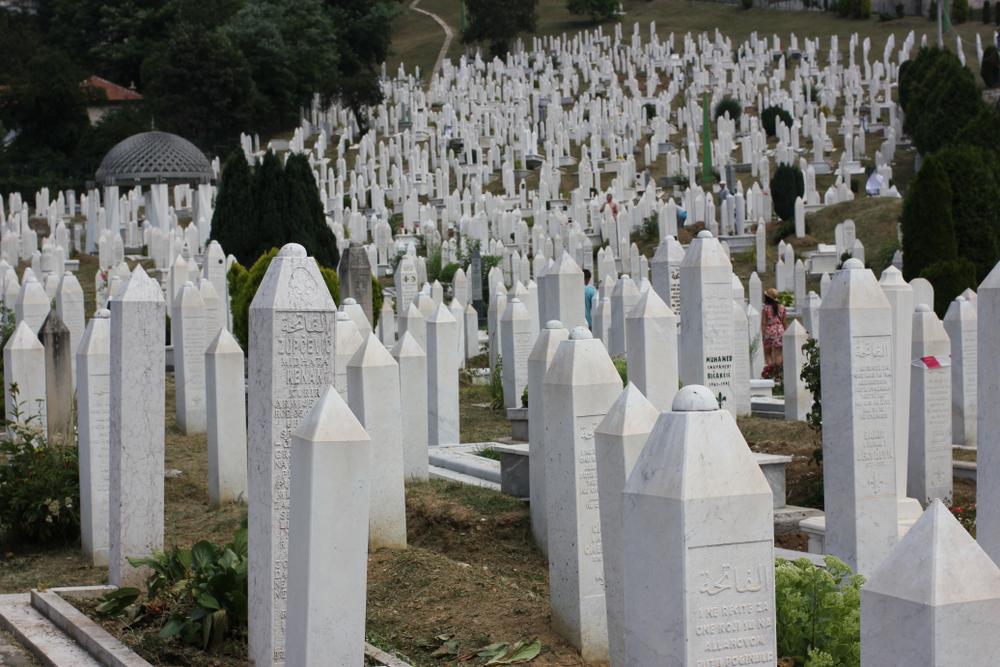 Sarajevo, cimitero di guerra (foto di Giacomo M /Shutterstock)