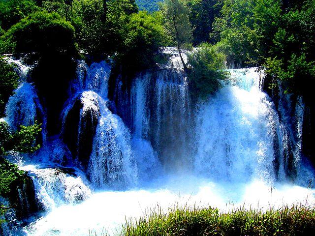 Le cascate di Martin Brod (foto Hasan Zulic)