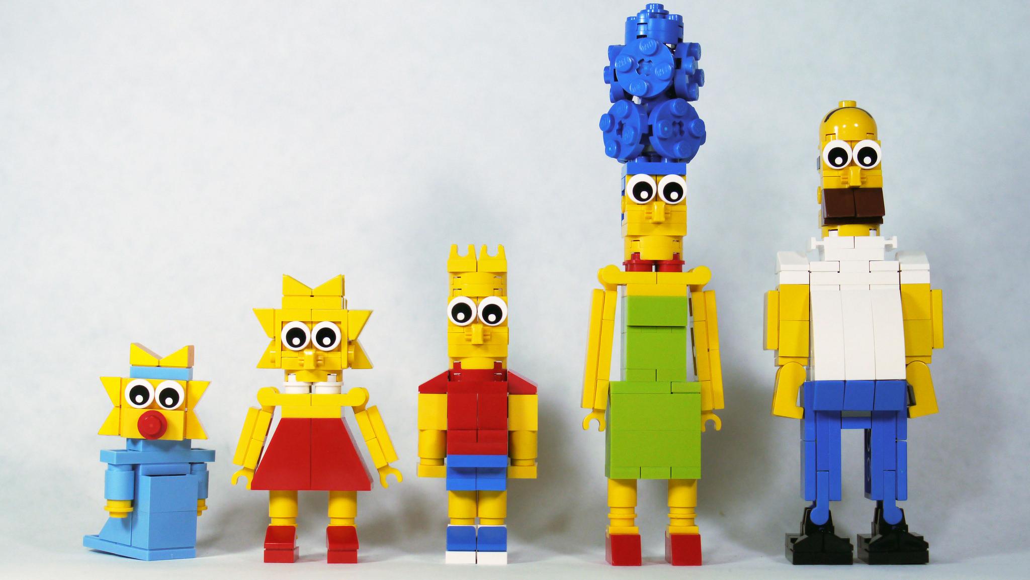 Lego Simpsons (Foto Brick 101, Flickr)