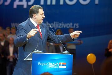 Il presidente della RS, Millorad Dodik, in una foto d'archivio (Izbor za bolji zivot, Flickr)