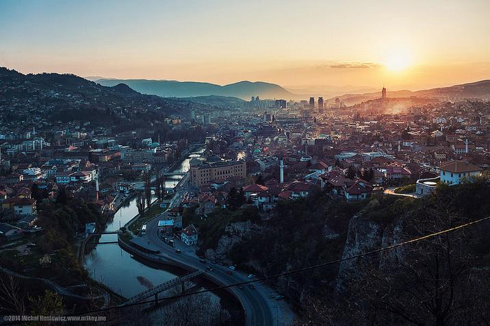 Sarajevo (Michał Huniewicz/flickr)
