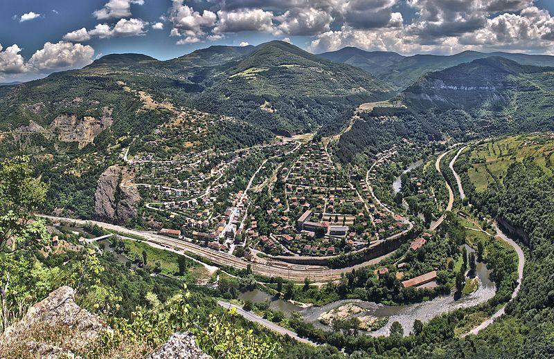 Valle del fiume Iskar - Wikicommons