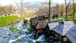 Mulini ad acqua a Jajce, Bosnia Erzegovina (© betibup33/Shutterstock)