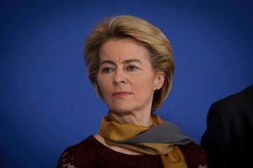 La presidente della Commissione europea Ursula von der Leyen (foto © Alexandros Michailidis/Shutterstock)