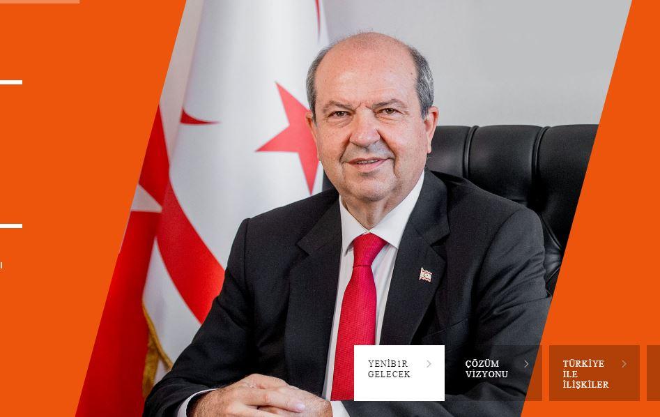 Ritratto del nuovo presidente di Cipro nord Ersin Tatar - dal sito ersintatar.net