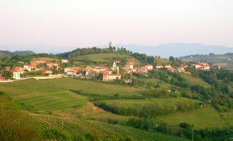 Colline di Brda (foto Sl-Ziga - licenza pubblico dominio)