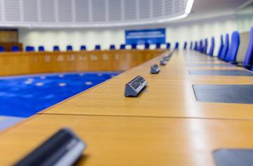 L'interno della sede della Corte europea dei Diritti dell'Uomo © Oleg Mikhaylov/Shutterstock