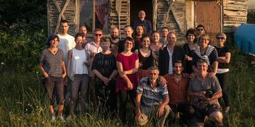 I colleghi di Courrier des Balkans