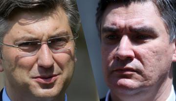 Andrej Plenković e Zoran Milanović
