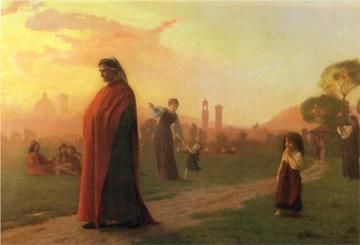 Dante (dipinto di Jean-Leon Gerome)