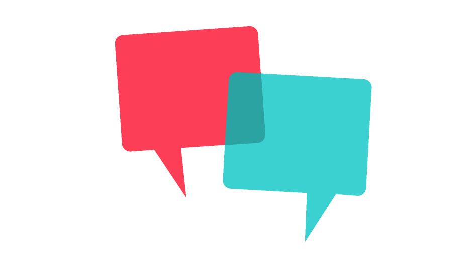 Immagine stilizzata indicante il dialogo