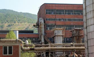 Un'immagine delle miniere di Trepça