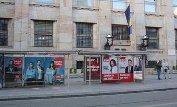 Sarajevo, cartelli elettorali elezioni 2018 - foto Alfredo Sasso.jpg