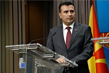 Zoran Zaev, leader dei socialdemocratici macedoni