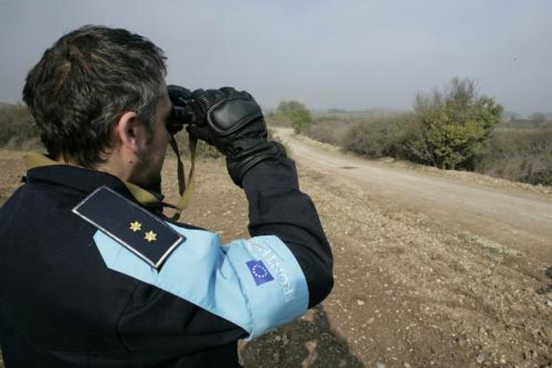 Frontex, controllo alla frontiera greco-turca - Rock Cohen - Flickr.jpg