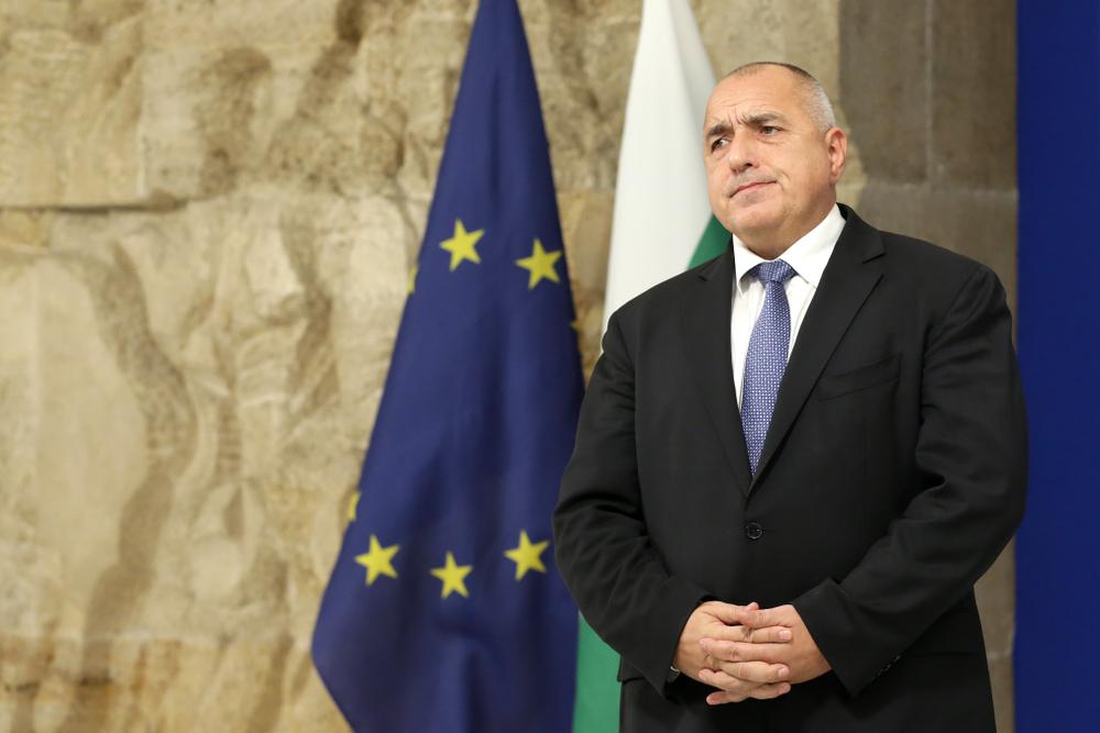 Il primo ministro bulgaro Boyko Borissov ai tempi della presidenza del Consiglio Ue della Bulgaria (Belish/Shutterstock)