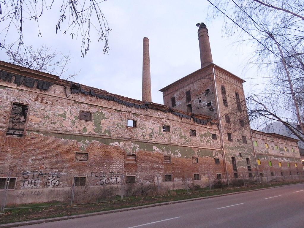 Il vecchio birrificio Weifert di Pančevo - foto di Mickey Mystique