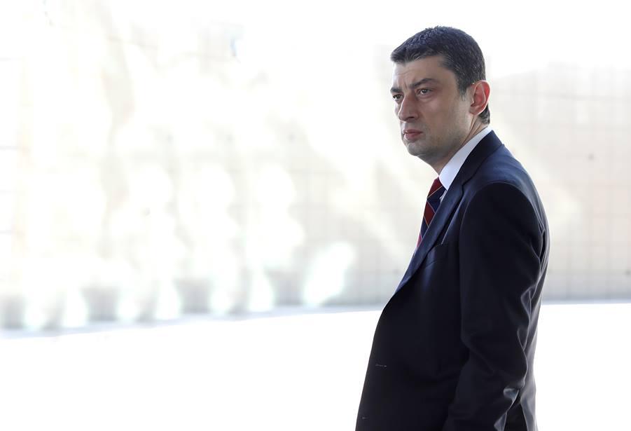 Giorgi Gakharia (foto Davit Teteloshvili/Ministero degli Interni Georgia)
