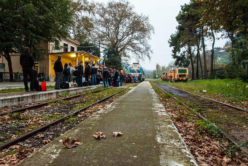 La stazione di Edessa