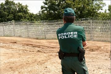 La barriera anti-migranti al confine tra Bulgaria e Turchia - fmartino/OBCT