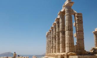 Capo Sounion - Tempio di Poseidone (foto Pixabay - CC0)
