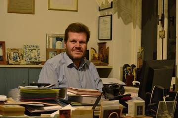 Greek journalist Stratis Balaskas. Photo courtesy of Stratis Balaskas