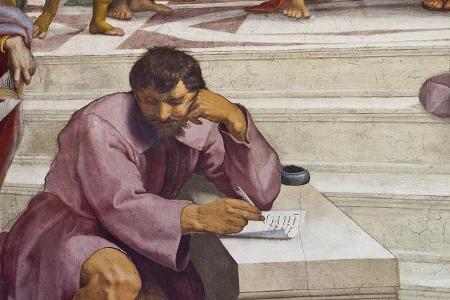 La disputa di Atene - Raffaello (foto  aurelio candido)