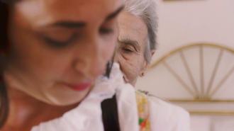 """Immagine tratta da """"Hora"""", su gentile concessione di Maria Alba e Graziana Saccente"""