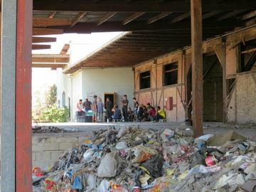 Migranti e rifugiati a Patrasso (foto Alexandra Menschick)