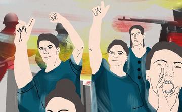 Illustrazione di Mananiko Kobakhidze - Chai Khana