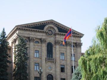Yerevan, palazzo del Parlamento