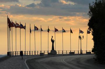 Grecia, ingresso nella città di Delfi - foto di Theilr - Flickr.jpg