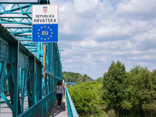 Confine tra Croazia e Bosnia Erzegovina © BalkansCat/Shutterstock