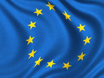 Bandiera europea, foto di Yanni Koutsomitis - Flickr.com.jpg