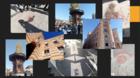 Alcune immagini scattate dagli studenti in viaggio