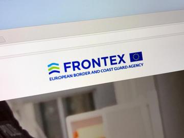 Il logo di Frontex @ Jarretera/Shutterstock