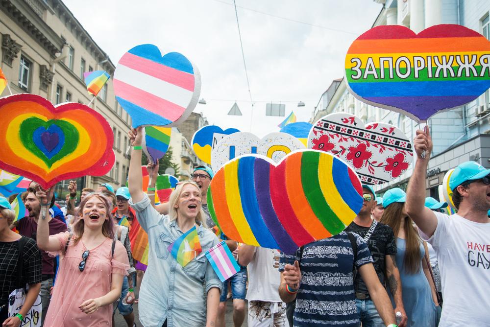 KyivPride, 23 giugno 2019 (© Siarhei Liudkevich/Shutterstock)