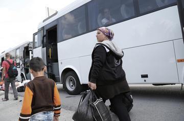 Rifugiati siriani a Istanbul (foto © Hamza Aktay/Shutterstock)