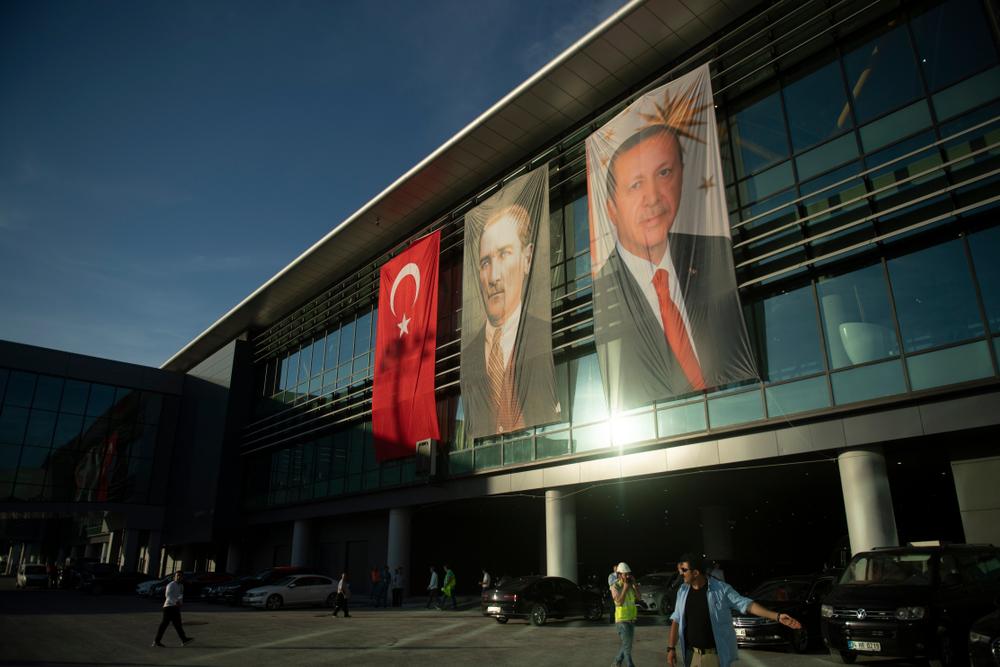 Il terminal del nuovo aeroporto di Istanbul (foto  answer5/Shutterstock)