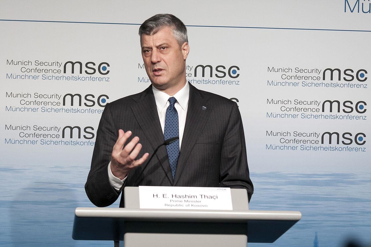 Hashim Thaçi (foto Moerk / MSC)