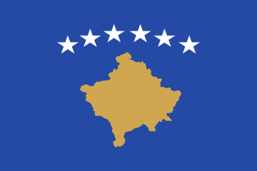 Bandiera del Kosovo - Pixabay