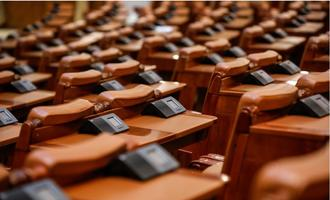 Empty seats in parliament - © M.Moira/Shutterstock